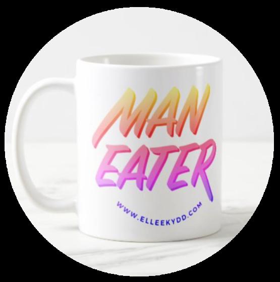 Maneater coffee mug
